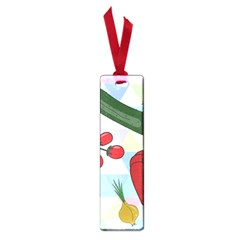 Vegetables Cucumber Tomato Small Book Marks by Nexatart