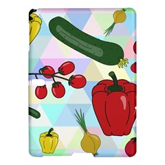 Vegetables Cucumber Tomato Samsung Galaxy Tab S (10 5 ) Hardshell Case  by Nexatart