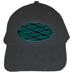 Pattern Vector Design Black Cap by Nexatart