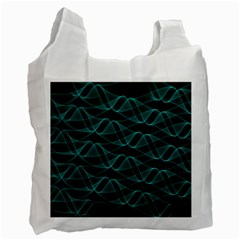 Pattern Vector Design Recycle Bag (One Side) by Nexatart