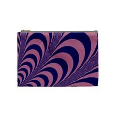 Fractals Vector Background Cosmetic Bag (medium)  by Nexatart