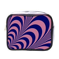 Fractals Vector Background Mini Toiletries Bags by Nexatart