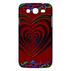 Red Heart Colorful Love Shape Samsung Galaxy Mega 5 8 I9152 Hardshell Case  by Nexatart