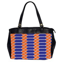 Pattern Design Modern Backdrop Office Handbags (2 Sides)  by Nexatart