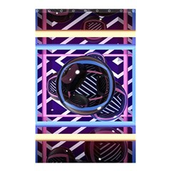 Abstract Sphere Room 3d Design Shower Curtain 48  X 72  (small)  by Nexatart