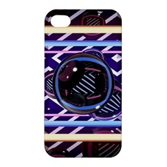 Abstract Sphere Room 3d Design Apple Iphone 4/4s Premium Hardshell Case by Nexatart
