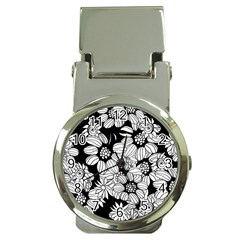 Mandala Calming Coloring Page Money Clip Watches by Nexatart