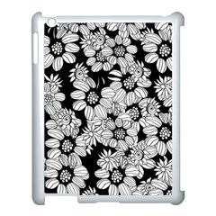 Mandala Calming Coloring Page Apple Ipad 3/4 Case (white) by Nexatart