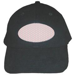 Motif Pattern Decor Backround Black Cap