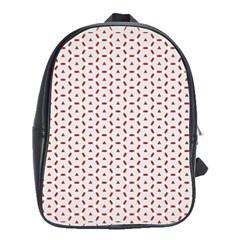 Motif Pattern Decor Backround School Bags (xl)  by Nexatart