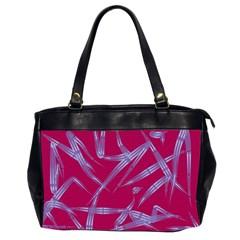 Background Vector Texture Pattern Office Handbags (2 Sides)  by Nexatart