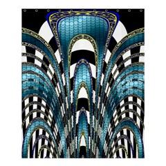 Abstract Art Design Texture Shower Curtain 60  X 72  (medium)  by Nexatart