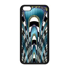 Abstract Art Design Texture Apple Iphone 5c Seamless Case (black) by Nexatart