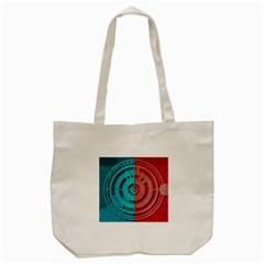 Vector Watch Texture Red Blue Tote Bag (cream) by Nexatart