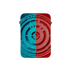 Vector Watch Texture Red Blue Apple Ipad Mini Protective Soft Cases