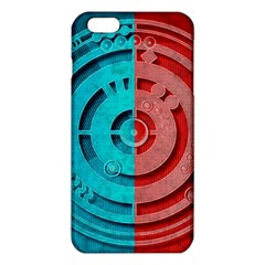Vector Watch Texture Red Blue Iphone 6 Plus/6s Plus Tpu Case by Nexatart