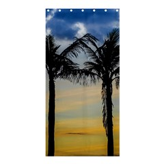 Palm Trees Against Sunset Sky Shower Curtain 36  X 72  (stall)  by dflcprints