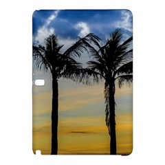 Palm Trees Against Sunset Sky Samsung Galaxy Tab Pro 10 1 Hardshell Case by dflcprints