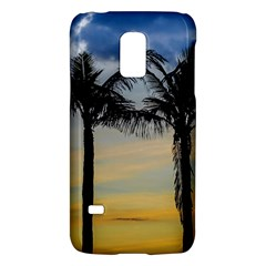Palm Trees Against Sunset Sky Galaxy S5 Mini by dflcprints