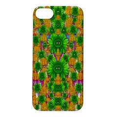 Jungle Love In Fantasy Landscape Of Freedom Peace Apple Iphone 5s/ Se Hardshell Case by pepitasart
