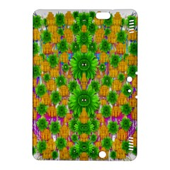 Jungle Love In Fantasy Landscape Of Freedom Peace Kindle Fire Hdx 8 9  Hardshell Case by pepitasart