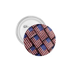 Usa Flag Grunge Pattern 1 75  Buttons by dflcprints