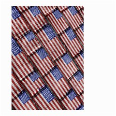 Usa Flag Grunge Pattern Small Garden Flag (two Sides) by dflcprints