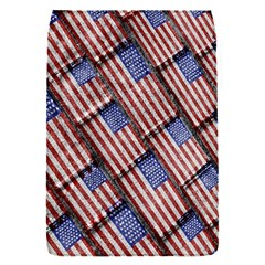 Usa Flag Grunge Pattern Flap Covers (s)  by dflcprints