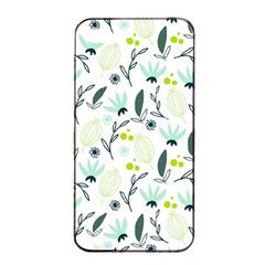 Hand Drawm Seamless Floral Pattern Apple Iphone 4/4s Seamless Case (black) by TastefulDesigns