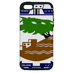 Coat Of Arms Of Holon  Apple Iphone 5 Hardshell Case (pc+silicone) by abbeyz71