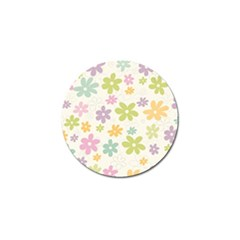 Beautiful Spring Flowers Background Golf Ball Marker (10 Pack) by TastefulDesigns