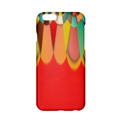 Colors On Red Apple Iphone 6/6s Hardshell Case by linceazul