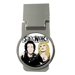 Sid And Nancy Money Clips (round)  by Valentinaart