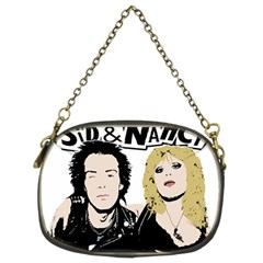 Sid And Nancy Chain Purses (two Sides)  by Valentinaart