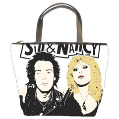 Sid And Nancy Bucket Bags by Valentinaart