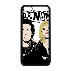 Sid And Nancy Apple Iphone 5c Seamless Case (black) by Valentinaart
