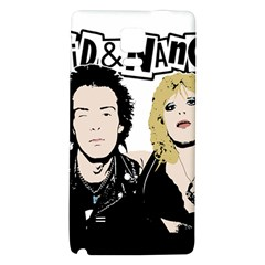 Sid And Nancy Galaxy Note 4 Back Case by Valentinaart