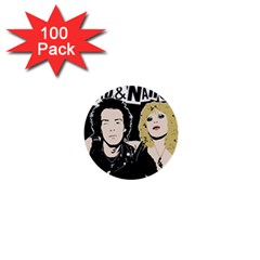 Sid And Nancy 1  Mini Buttons (100 Pack)  by Valentinaart