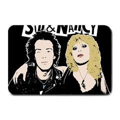 Sid And Nancy Plate Mats by Valentinaart