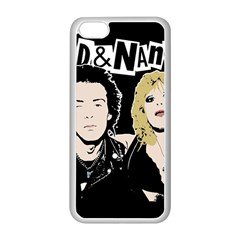 Sid And Nancy Apple Iphone 5c Seamless Case (white) by Valentinaart