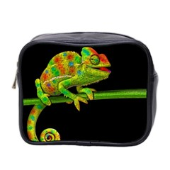 Chameleons Mini Toiletries Bag 2 Side by Valentinaart