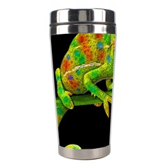 Chameleons Stainless Steel Travel Tumblers by Valentinaart