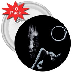 The Ring 3  Buttons (10 Pack)  by Valentinaart