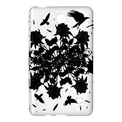 Black Roses And Ravens  Samsung Galaxy Tab 4 (8 ) Hardshell Case  by Valentinaart