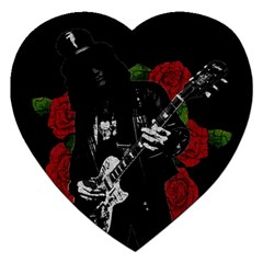 Slash Jigsaw Puzzle (heart) by Valentinaart