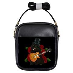 Puli Dog   Slash  Girls Sling Bags by Valentinaart