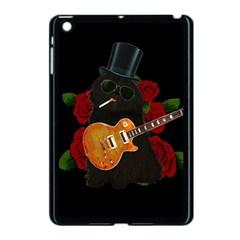 Puli Dog   Slash  Apple Ipad Mini Case (black) by Valentinaart