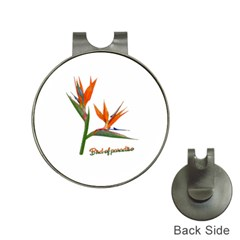 Bird Of Paradise Hat Clips With Golf Markers by Valentinaart