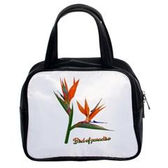 Bird Of Paradise Classic Handbags (2 Sides) by Valentinaart