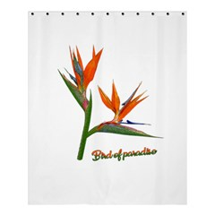 Bird Of Paradise Shower Curtain 60  X 72  (medium)  by Valentinaart